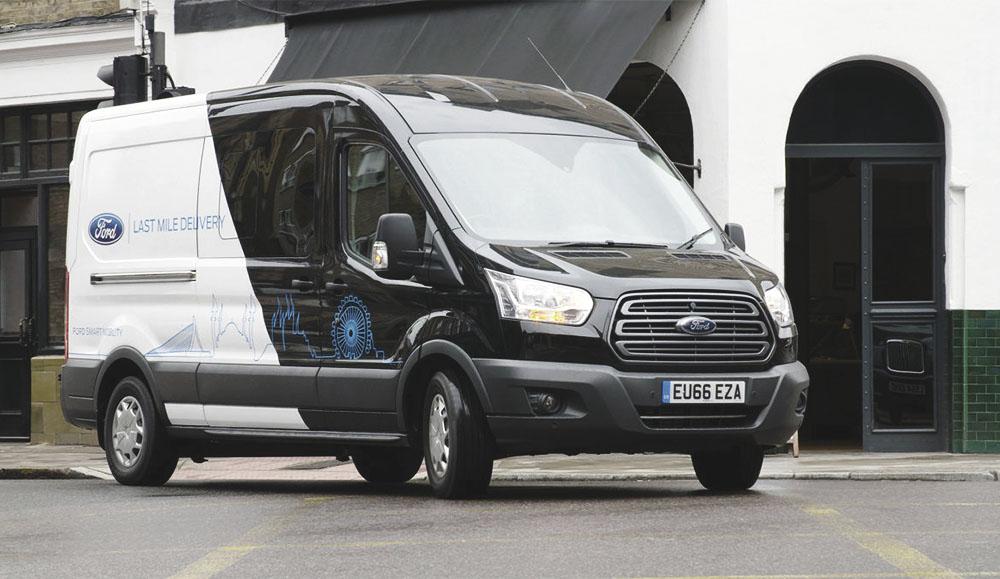 Ford проводит испытания нового цифрового сервиса для курьеров