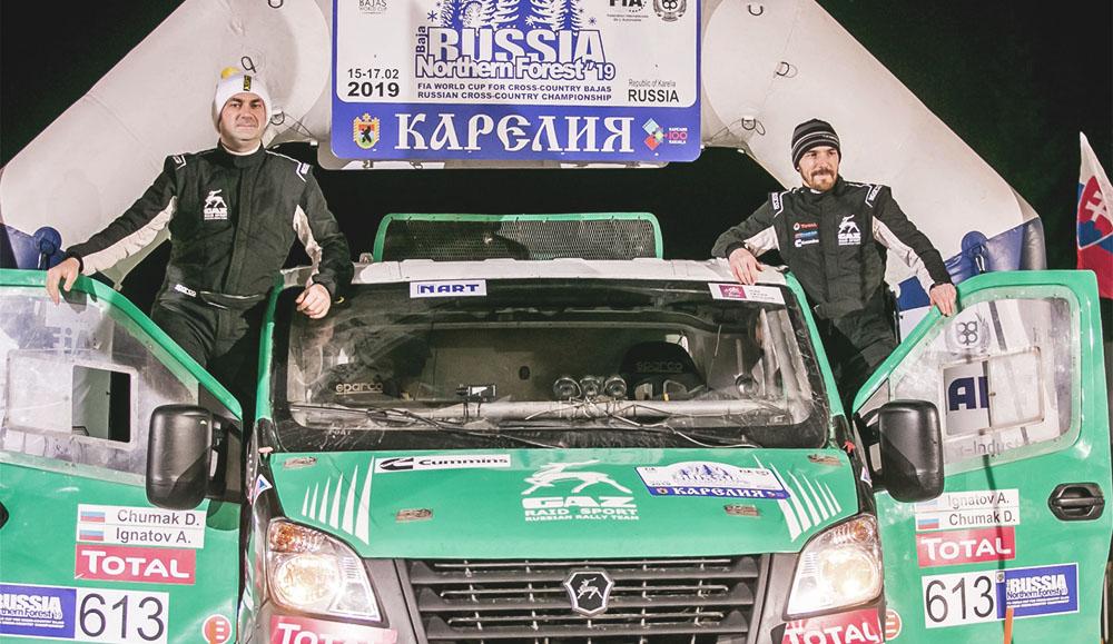 Команда «ГАЗ Рейд Спорт» победила в первом этапе российского Чемпионата по ралли