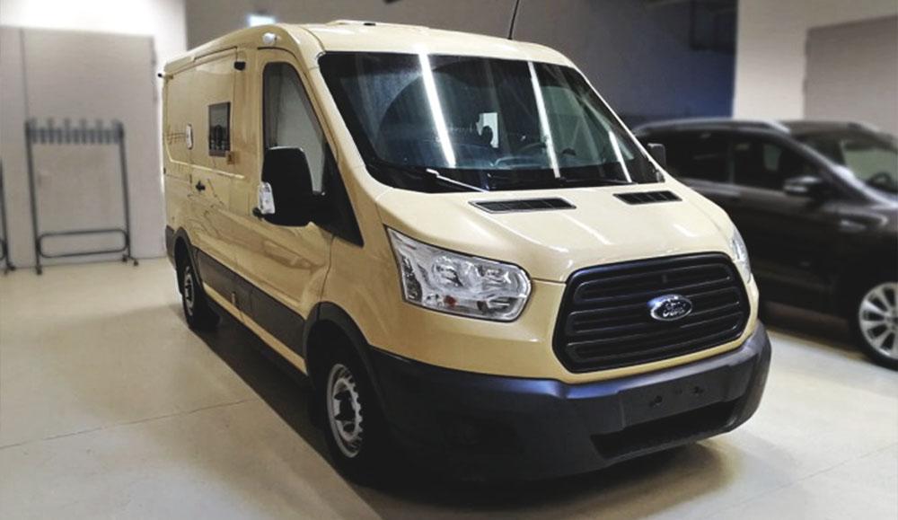 Ford Sollers представил новый Transit для служб инкассации
