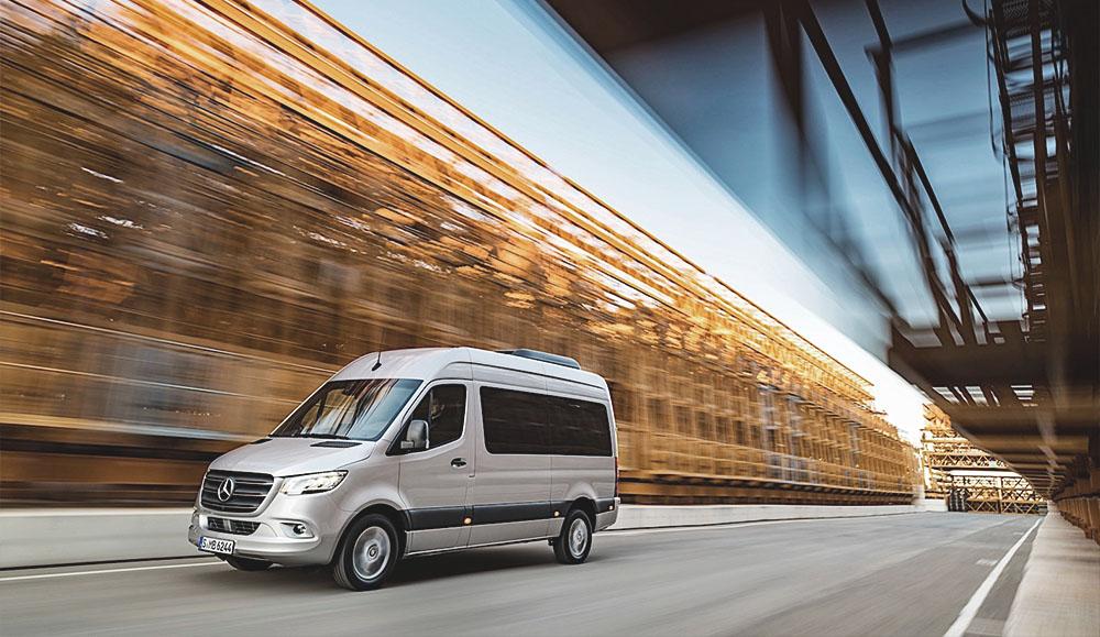 Новая система Wet Wiper System стала доступна для фургонов Mercedes-Benz Sprinter