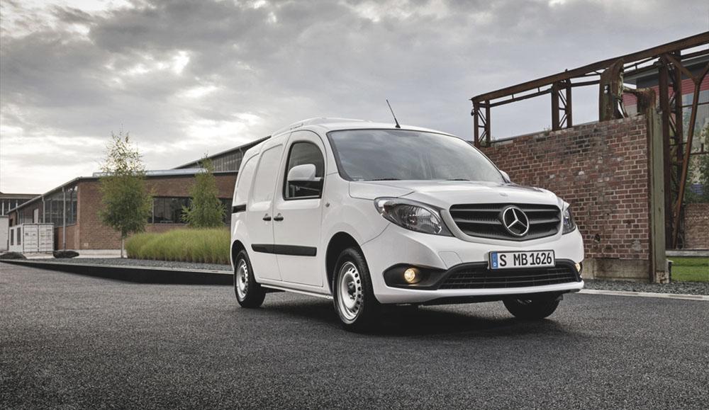 Микроавтобус Mercedes-Benz Citan упал в цене