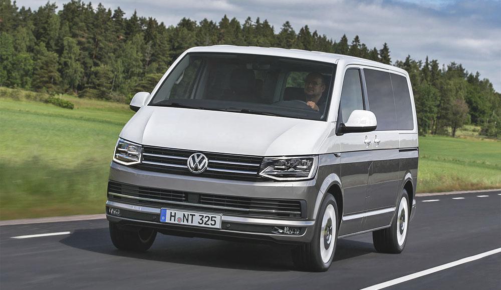 Статистика продаж коммерческих автомобилей марки Volkswagen в феврале в России