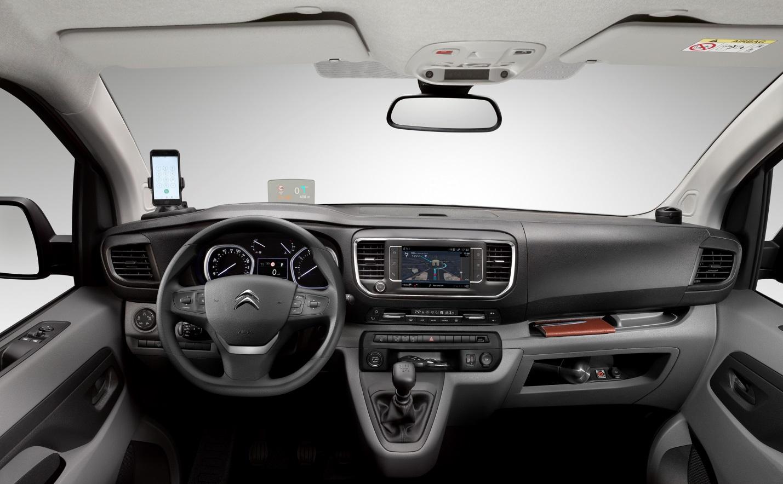 Новые модификации для фургона Citroen Jumpy