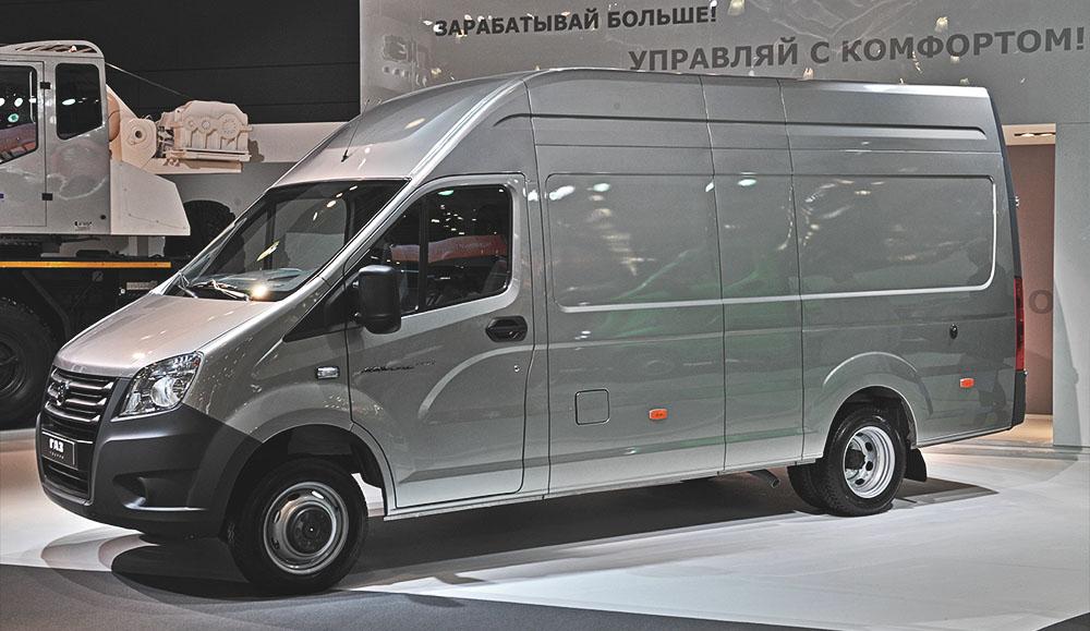Продажи лёгких коммерческих автомобилей в России в марте