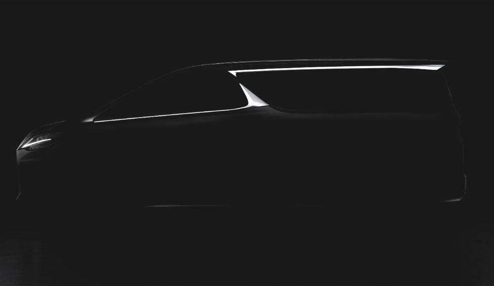 Компания Lexus планирует создать минивэн на базе Toyota Alphard