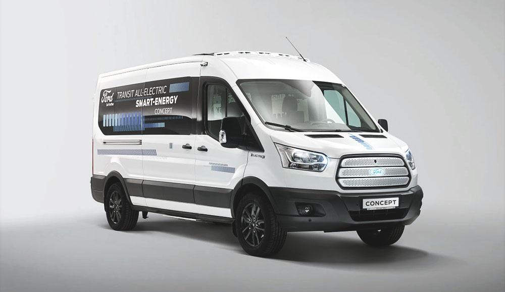 Ford разработал полностью электрический концепт Transit Smart Energy