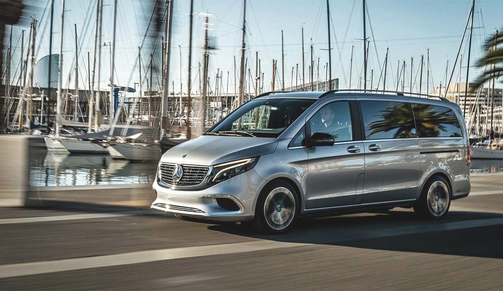 Компания Mercedes-Benz представила новый электрический минивэн