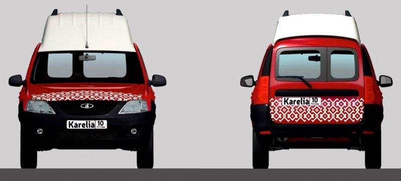 Новая модификация LADA Largus для путешествий