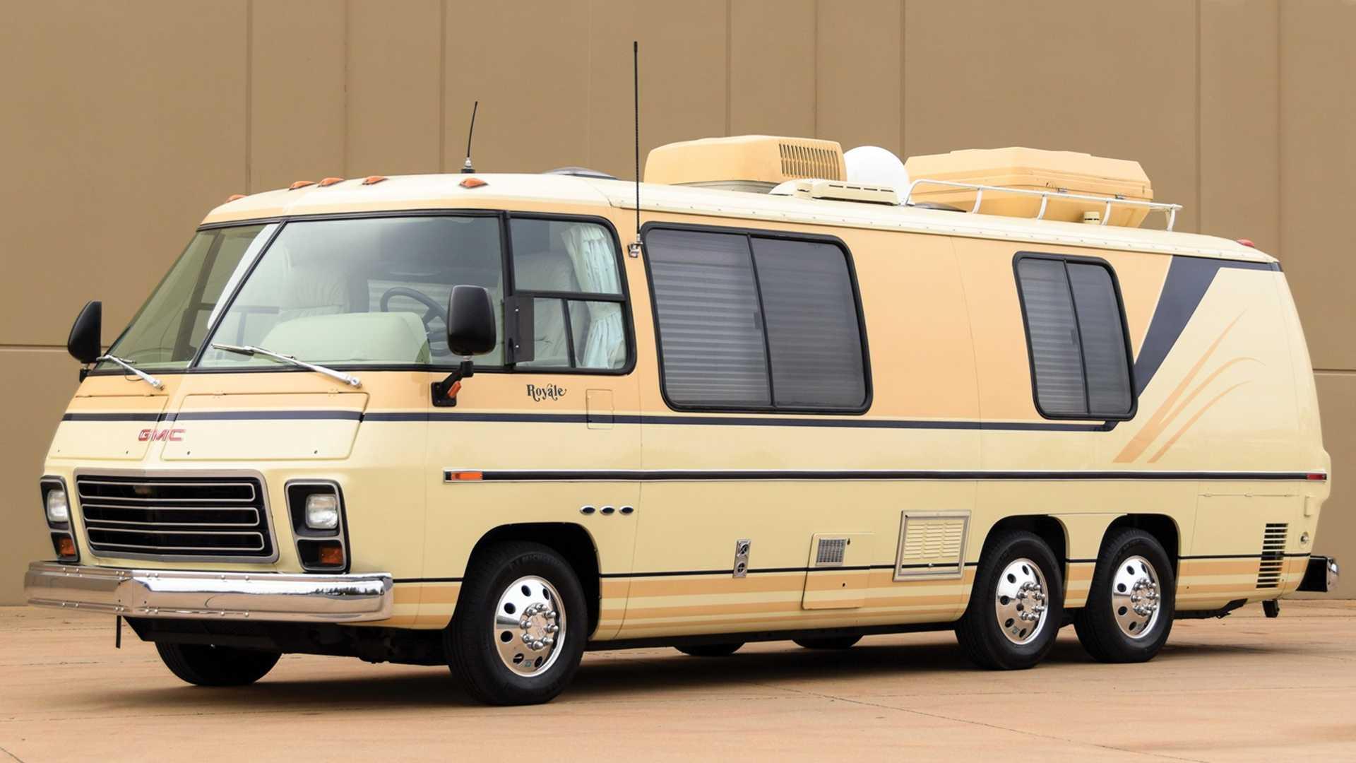 Концепт дома на колёсах Chevrolet Chalet Royale 1972