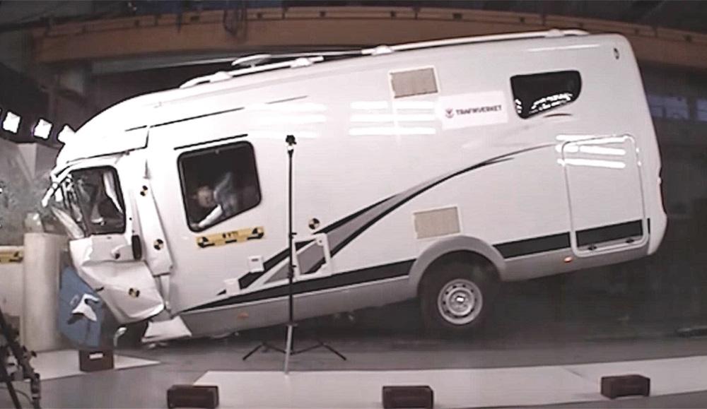 В Швеции решили проверить дома на колёсах на безопасность