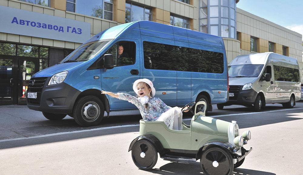 В выходные прошёл фестиваль классических автомобилей марки ГАЗ