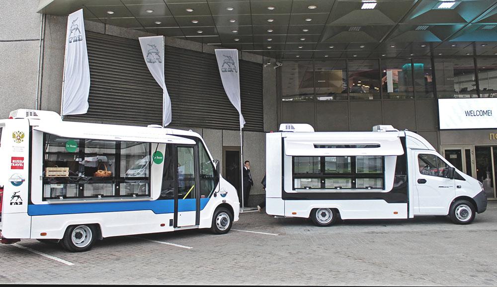 «Группа ГАЗ» представила новые автомобили в рамках Недели Российского ритейла