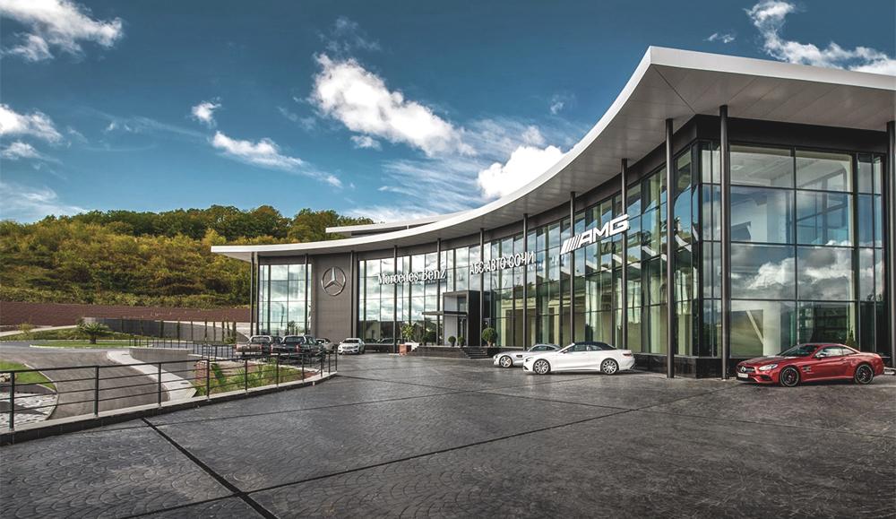 Новый дилерский центр Mercedes-Benz открылся в Сочи