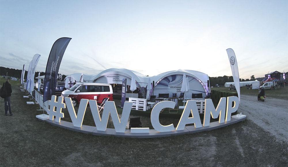 Марка Volkswagen станет партнёром крупнейшего фестиваля «НАШЕСТВИЕ-2019»