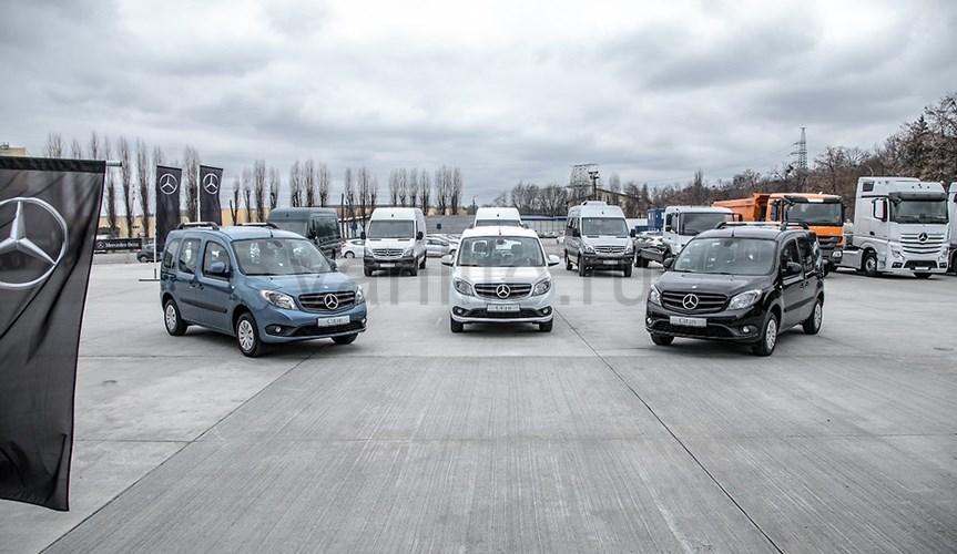 Фургон Mercedes-Benz Citan появился на рынках Украины