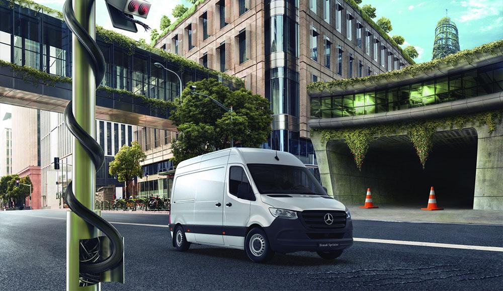 Для российских покупателей стали доступны обновлённые фургоны Vito Life и Sprinter Limited Edition