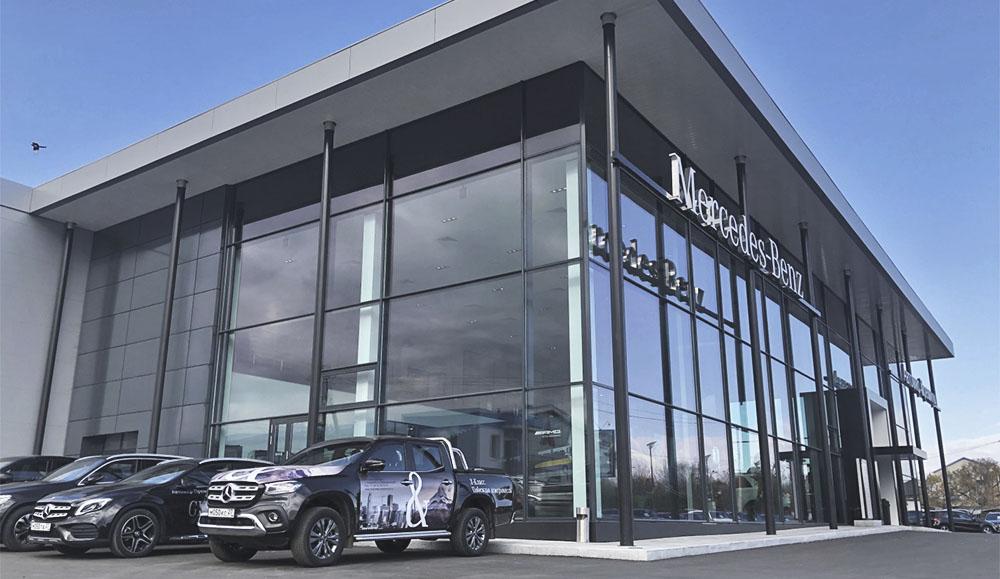 В Хабаровске открылось новое дилерство марки Mercedes-Benz