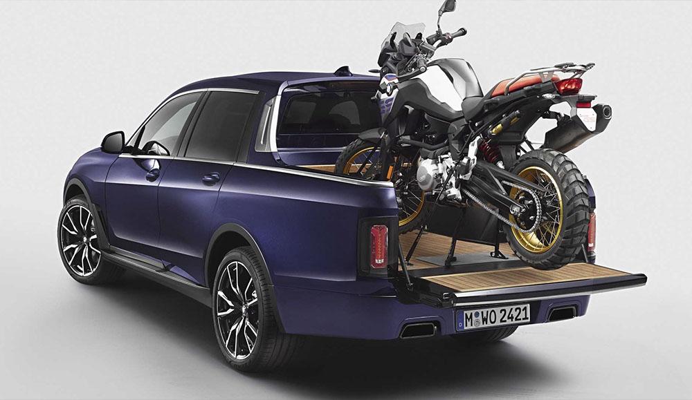 В модельном ряду BMW появится пикап