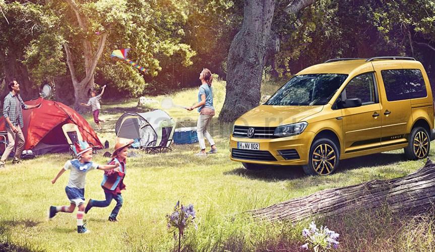 Volkswagen представил новую версию фургона Caddy Family
