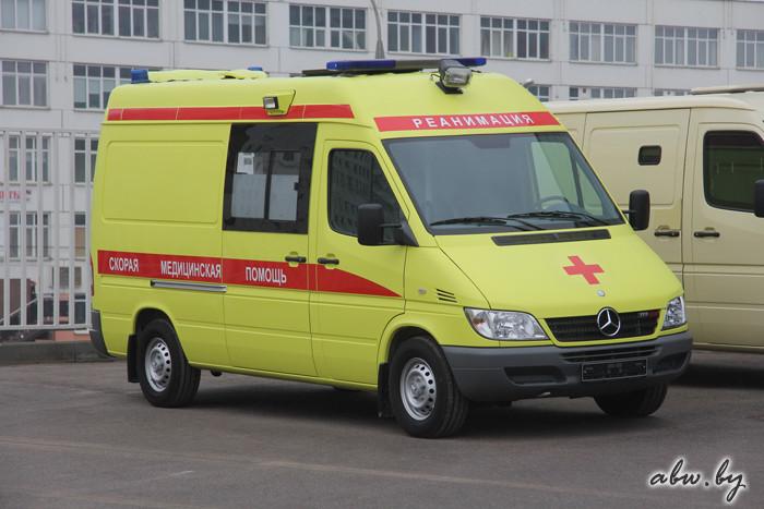 Спецтехника на базе Mercedes-Benz Sprinter. Белорусские и российские варианты