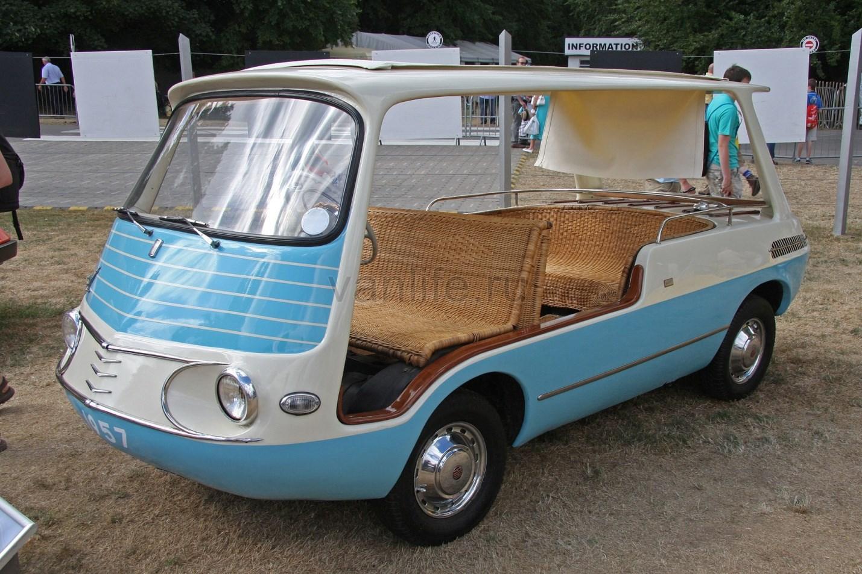 Fiat 600 Multipla – крошечный минивэн с серьёзным потенциалом
