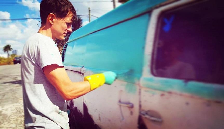 «Мексиканский блог белоруса»: покраска Комби
