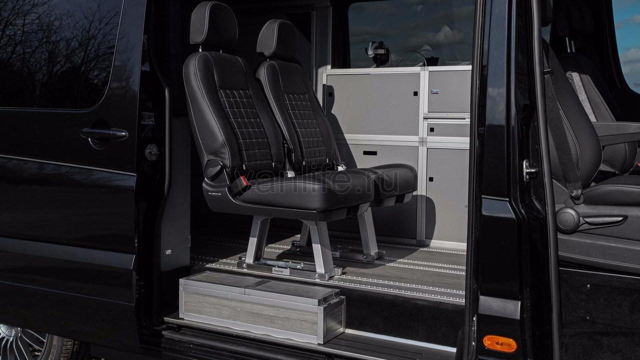 Спортивный кемпер на базе фургона Sprinter от тюнинговой компании Hartmann