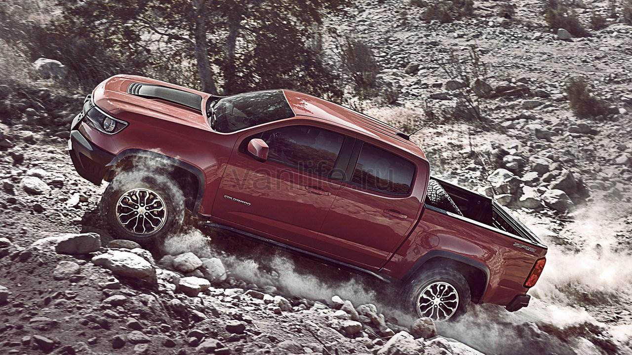Сверхпроходимый Chevy Colorado ZR2 во время проведения беспрецедентных дорожных испытаний: видео