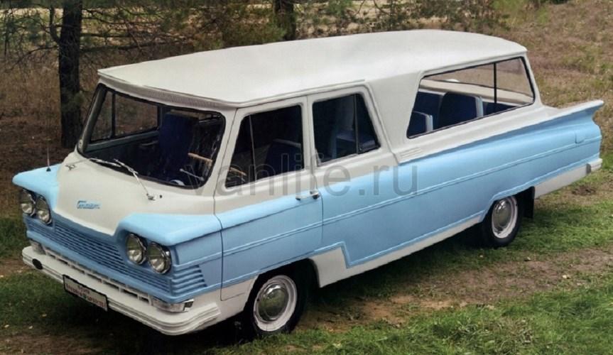 Микроавтобус «Старт» - футуристический советский автомобиль с короткой историей