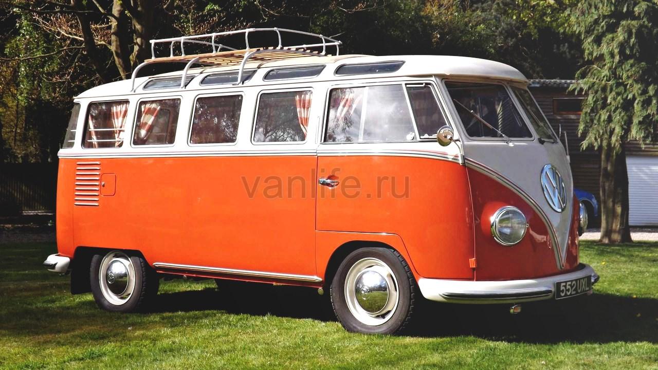 Фургон VW Samba Campervan 1959 года ищет нового хозяина
