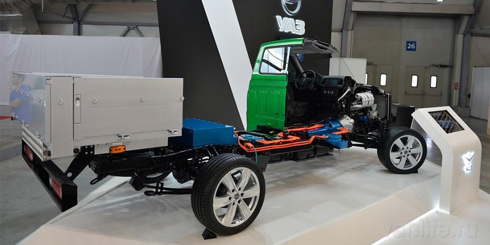 Компания УАЗ разработала свой первый гибридный автомобиль