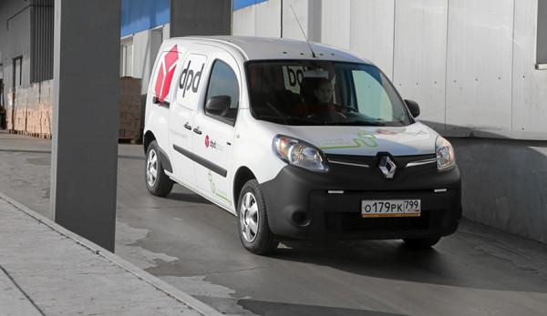 Электромобили Renault Kangoo Z.E. поступили в парк логистического оператора DPD