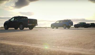 Какой пикап круче VW Amarok, Mercedes-Benz X-Class или Ford?