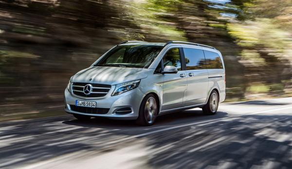 Mercedes-Benz V-Класса получит мультимедийную систему MBUX