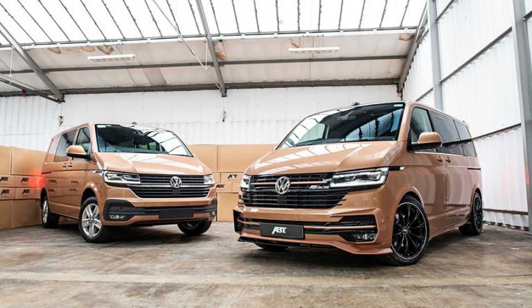 Тюнинг-ателье «ABT» прокачало микроавтобус Volkswagen Transporter