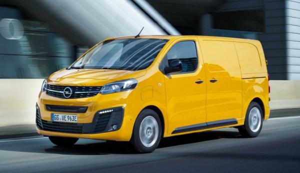 Opel представил свой первый коммерческий электромобиль