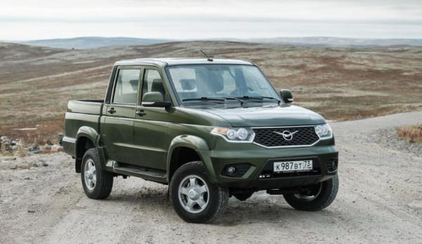 УАЗ «Пикап» с автоматической трансмиссией запущен в производство