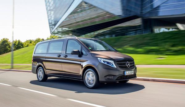 Более 200 фургонов Mercedes-Benz Vito попали под отзыв