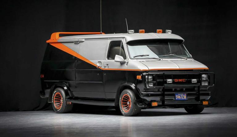 На аукционе продадут легендарный фургон «Команды А»