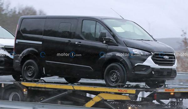Ford выпустит новое поколение моделей Transit Custom и Tourneo Custom
