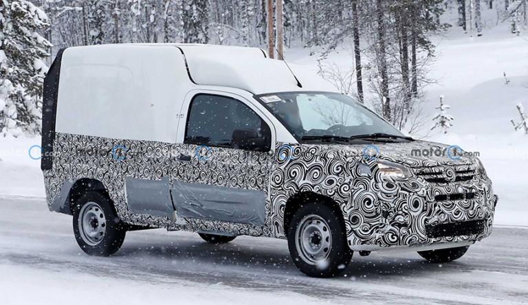 Обновлённый Fiat Fiorino 2022 замечен на дорогах
