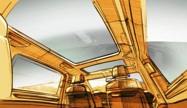 Для нового Volkswagen Multivan Т7 предложат инновационную компоновку салона