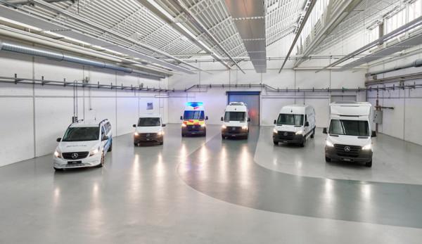 Mercedes-Benz представил модельную линейку эликтрических спецфургонов
