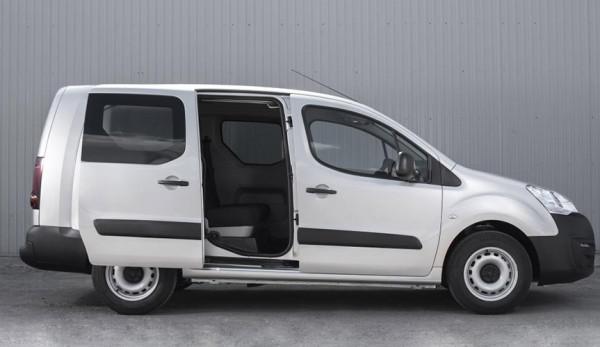 Peugeot представляет новые версии фургона Peugeot Partner