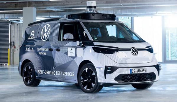 Volkswagen Коммерческие автомобили представил первый прототип ID.BUZZ