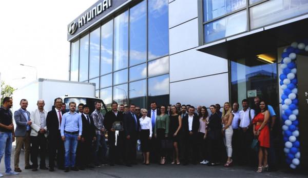 Открытие дилерского центра Hyundai Trucks and Bus Rus