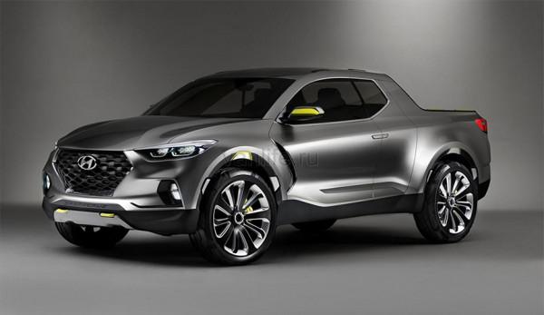 Первый пикап Hyundai появится в 2020 году