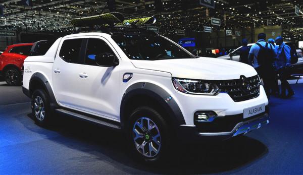 В Европе стартуют продажи нового пикапа Renault Alaskan