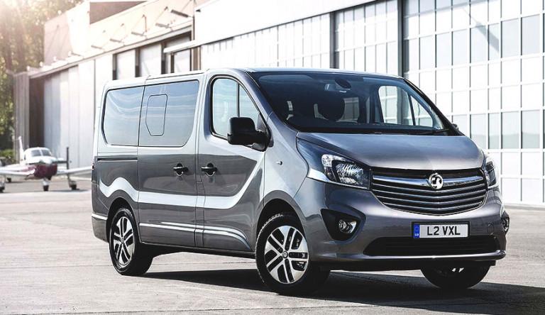 Компания Vauxhall создала две новые модели на базе фургона Vivaro