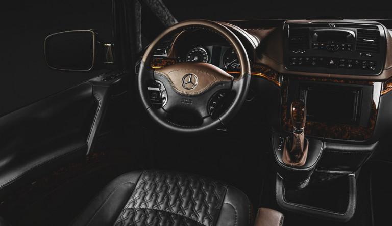 Тюнинг-ателье Carlex Design сделало из подержанного Mercedes-Benz Viano фургон S-класса